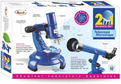 Picture of Annie 2 in 1 Science Set (Blue)