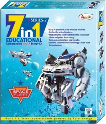 Picture of Annie 7 in 1 Space Fleet Solar Educational Kit Series-2 (Multicolor)