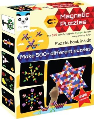 Picture of Play Panda Magnetic Puzzles Triangles (500 Pieces)