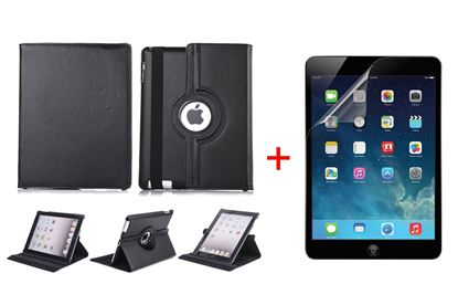 Picture of 360 Rotating Case For Appel Ipad 234 + Matte Fcreen Guard Free
